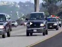 Dolarii aruncati au perturbat traficul pe autostrada