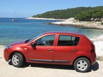 Dacia Sandero s-a lansat in 2008 in tara