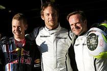 Vettel, Button si Barrichello lupta pentru titlul mondial