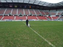 Stadionul din Klagenfurt, posibila gazda pentru Urziceni