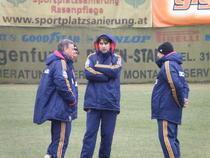 Romania, antrenamentul oficial de la Klagenfurt