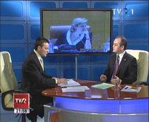 Emil Boc la TVR