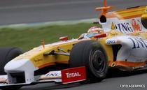 Fernando Alonso, cel mai bun timp la antrenamentele de la Valencia