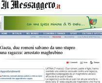 """Articolul din """"Il Messaggero"""""""