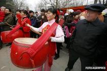 Chinezii si pasiunea pentru tobe