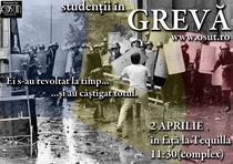 Studentii protesteaza