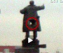 Lenin, serios afectat de explozie