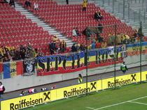 Suporteri romani la Klagenfurt