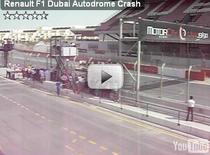 Ben Sulayem distruge un monopost Renault