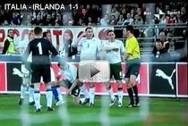 Irlanda i-a tinut in sah pe italieni