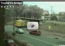 Camioanele si podul