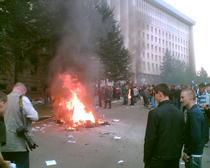 Galerie foto: Proteste la Chisinau
