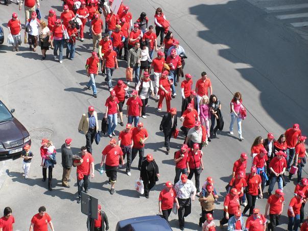 Manifestatia PSD de 1 Mai