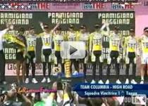 Mark Cavendish, primul tricou roz din Il Giro