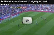Barcelona - Villarreal 3-3