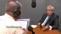 Calin Popescu Tariceanu in studioul HotNews.ro