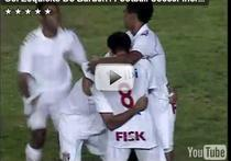 Gol interesant in liga a doua din Brazilia