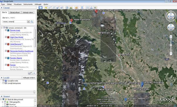 Google Earth ne vede din spatiu drept tigani sau rromi