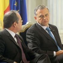 Liderii coalitiei, Boc si Geoana