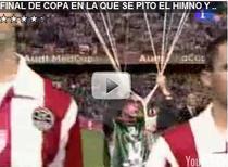 Imnul Spaniei huiduit la finala Cupei Regelui