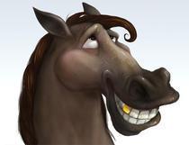 Calul - asa cum este in realitate, fara haine