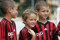 Milan Junior Camp a inceput si in Romania
