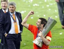 Srna, Lucescu si Ahmetov, la ora castigarii Cupei UEFA
