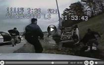 Imaginile care au condus la concedierea politistilor