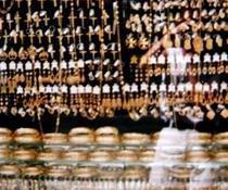 Vitrina cu aur in Malta