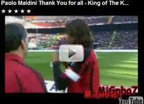 Paolo Maldini a spus adio fotbalului