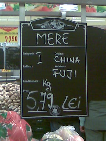 Au Fujit in China dupa mere