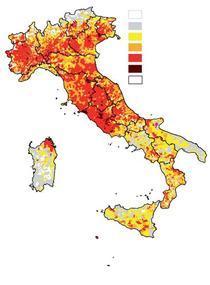 Distributia romani lor in Italia