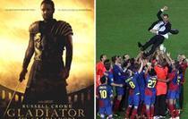 Barcelona, motivata de The Gladiator