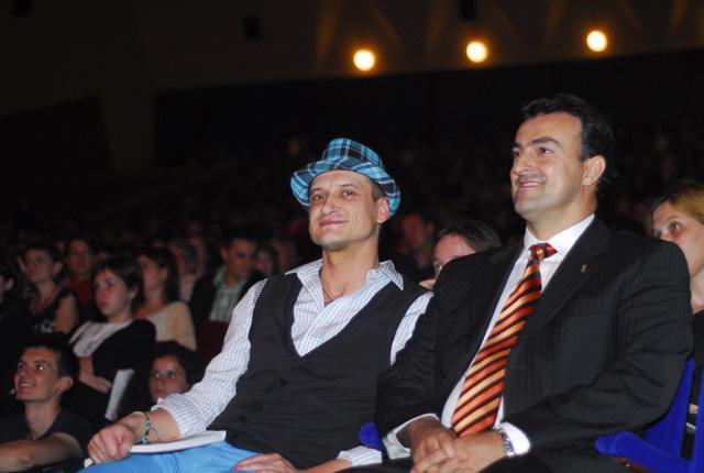 Mihai Chirilov si Sorin Apostu
