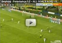 Fotbal superb in Besiktas - Fenerbahce