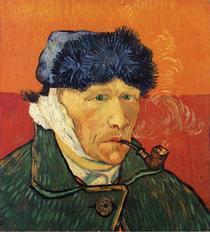 Autoportret cu urechea taiata