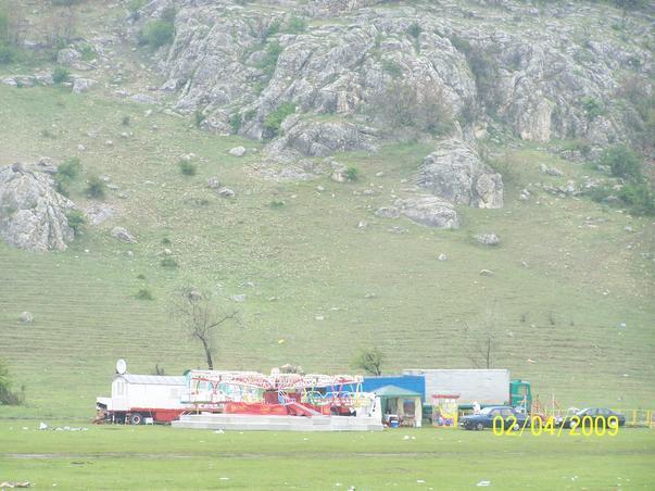 Carusel in rezervatia Cheile Dobrogei