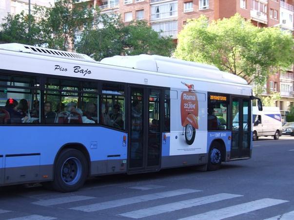 Campanie publicitara la Madrid [4]