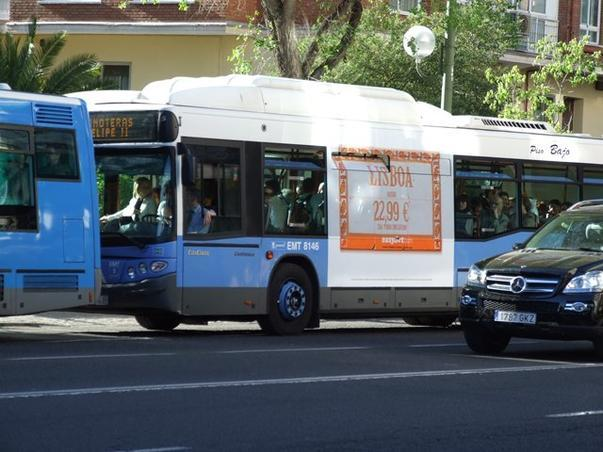 campanie publicitara la Madrid 2