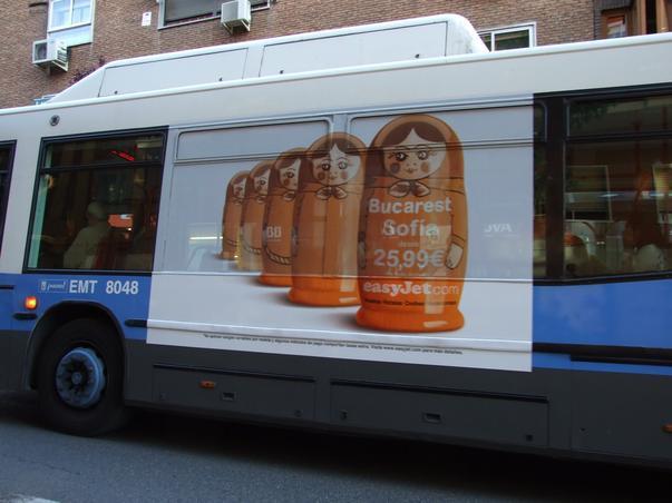Campanie publicitara Madrid [1]