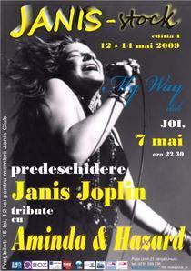 afis tribut Janis Joplin