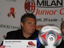 Daniele Massaro la Bucuresti