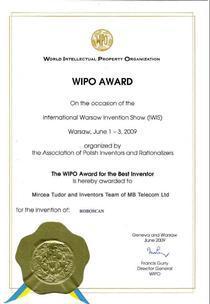 Diploma WIPO