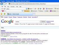 """""""Asiban"""" pe Google.ro"""