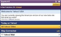 Yahoo! pe mobil