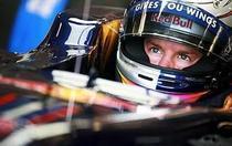 Sebastian Vettel, pole-position la Silverstone
