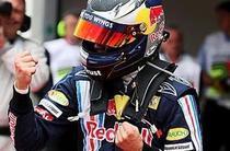 Sebastian Vettel, pole-position in China