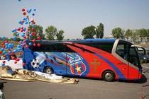 Steaua nu-si permite sa plateasca autocarul echipei