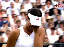 Ana Ivanovic, in lacrimi la Wimbledon
