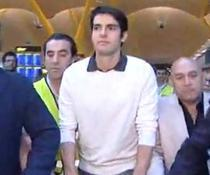 Kaka, pe aeroportul de la Madrid